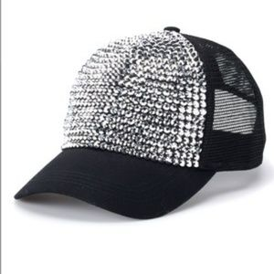 d2716cb348ce9 Women s Mudd® Bling Trucker Hat